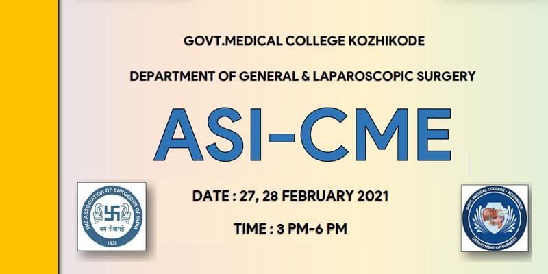 ASI CME - Govt Medical College - Kozhikode